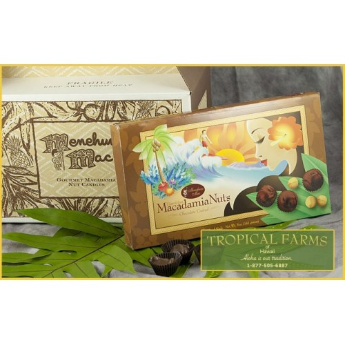 Menehune Mac Chocolate Macadamias 6-pak 78 pcs