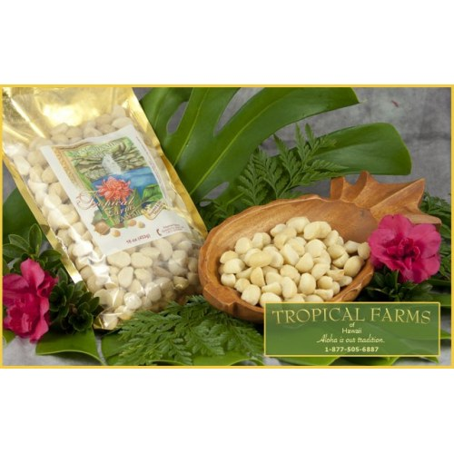 Macadamia Nuts - Plain Unsalted 16 oz